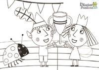 Dibujos para colorear del pequeo reino de Ben y Holly ...