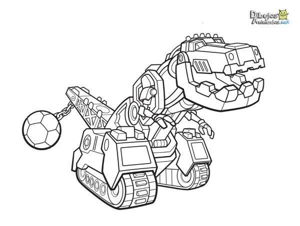 Dinotrux Dibujos Colorear Peques