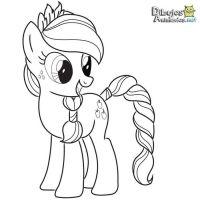 Dibujos para colorear Mi pequeo Pony - Dibujos Animados