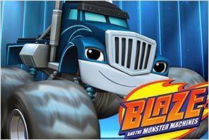 personaje crusher blaze y los monster machines