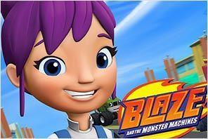 personaje gabby blaze monster machines