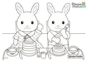 colorear-conejos-sylvanian-families