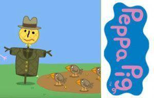 senor-espantapajaros-peppa-pig