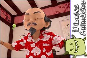 Personajes ladybug  Maestro Fu