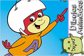 personajes dibujos animados  hormiga atomica