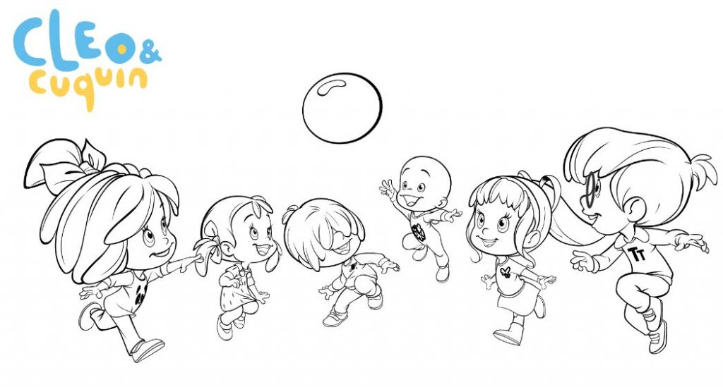 Dibujos Para Colorear De Familia Telerin