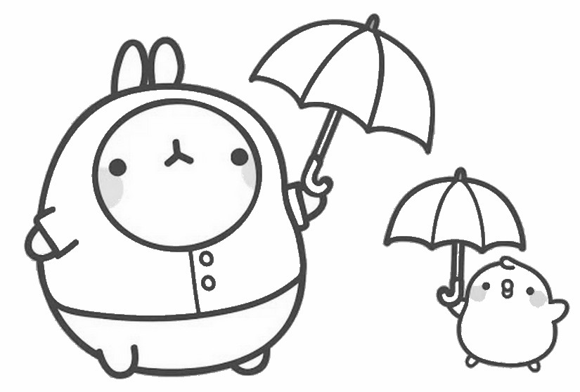 molang lluvia