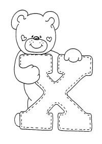 Dibujos Para Colorear Con La Letra X 27 Genial Dibujos Letra X