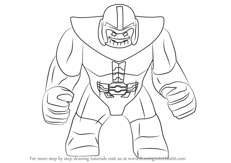 Kleurplaat Fortnite Thanos Fortnite Coloring Pages