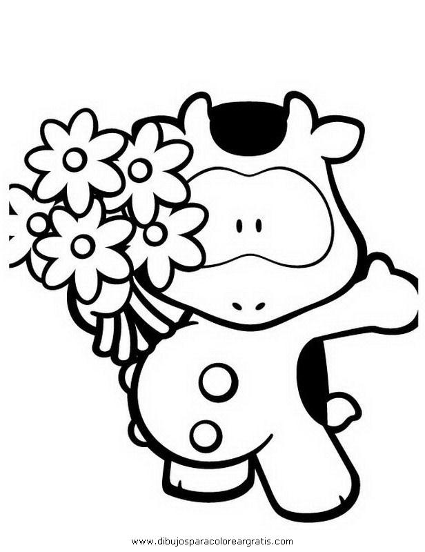 Dibujos Para Colorear De Cowco Y Sus Amigos