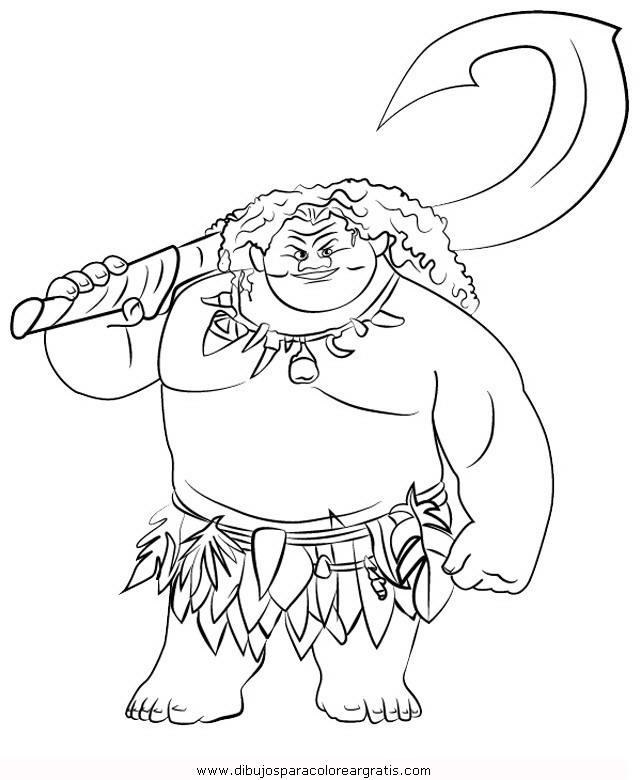 Dibujo vaiana-15 en la categoria dibujos_animados diseños