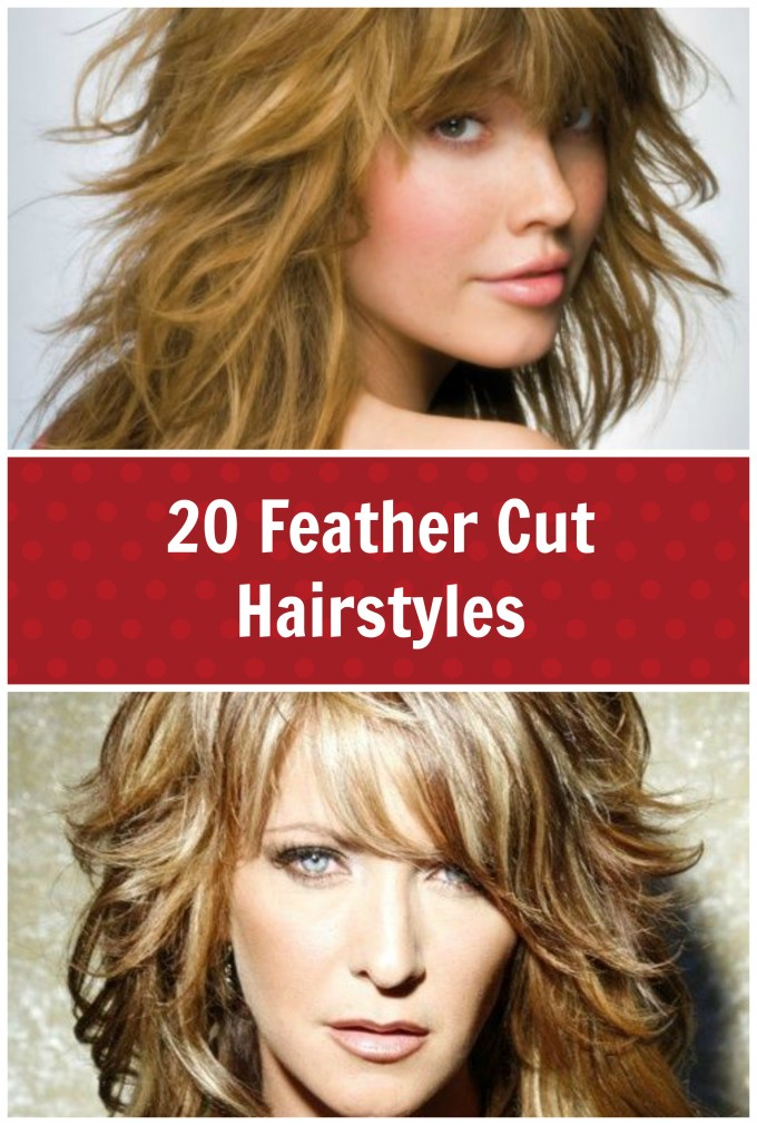 20 feather cut hairstyles for long, medium, and short hair