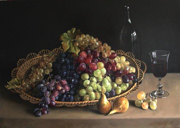 """Résultat de recherche d'images pour """"tableau de maitre avec des raisins"""""""