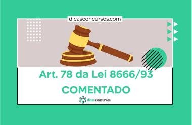 Art. 78 da Lei 8666/93 [COMENTADO]