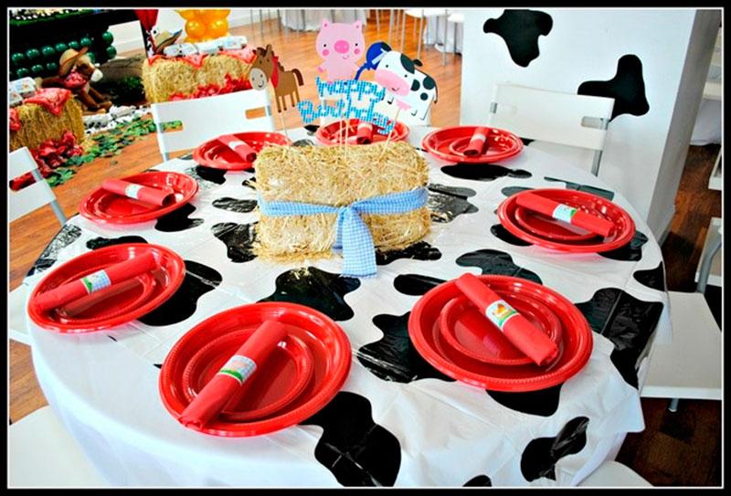 mesa da fazenda