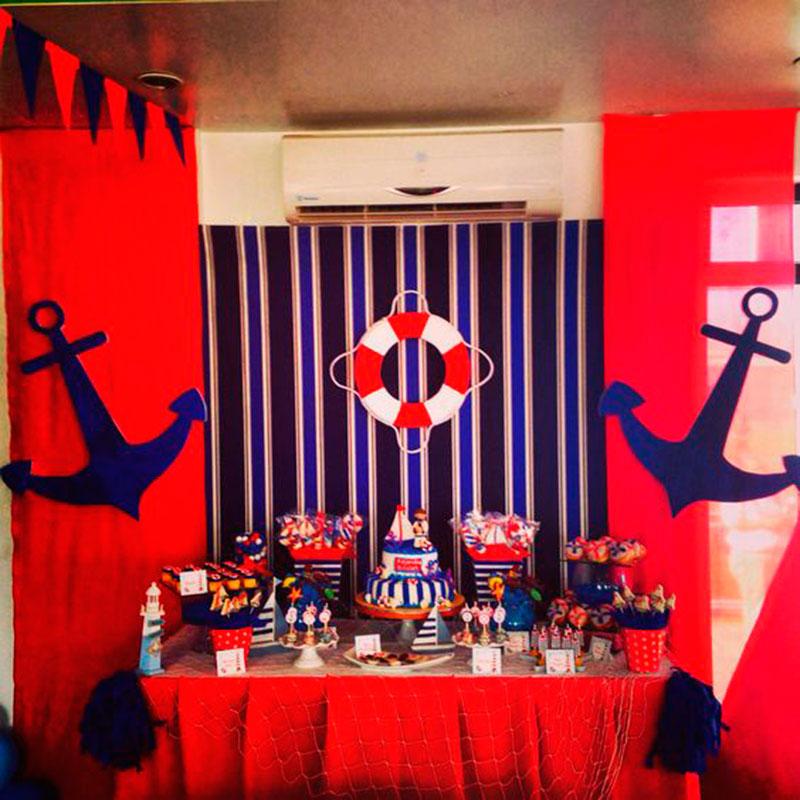 Festa Marinheiro 60 ideias para festa nutica