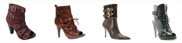 couromoda fivelas Tendências em sapatos para o inverno 2011