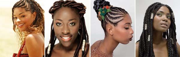 penteado cabelo crespo tranças dreads Penteados para cabelos crespos