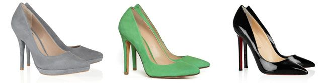 3 scarpin 10 sapatos que as mulheres mais gostam