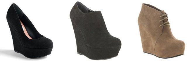 8 wedge 10 sapatos que as mulheres mais gostam