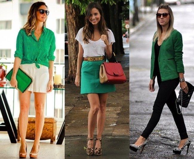 looks blogueiras esmeralda Tendência: verde esmeralda