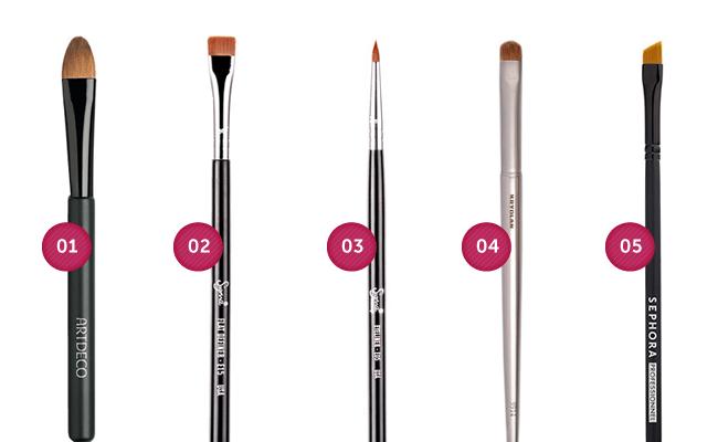 delinear Guia do pincel de maquiagem: aprenda a fazer as escolhas certas