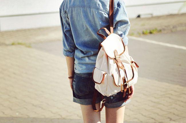 Resultado de imagem para mochila nas costas femininas blogueiras