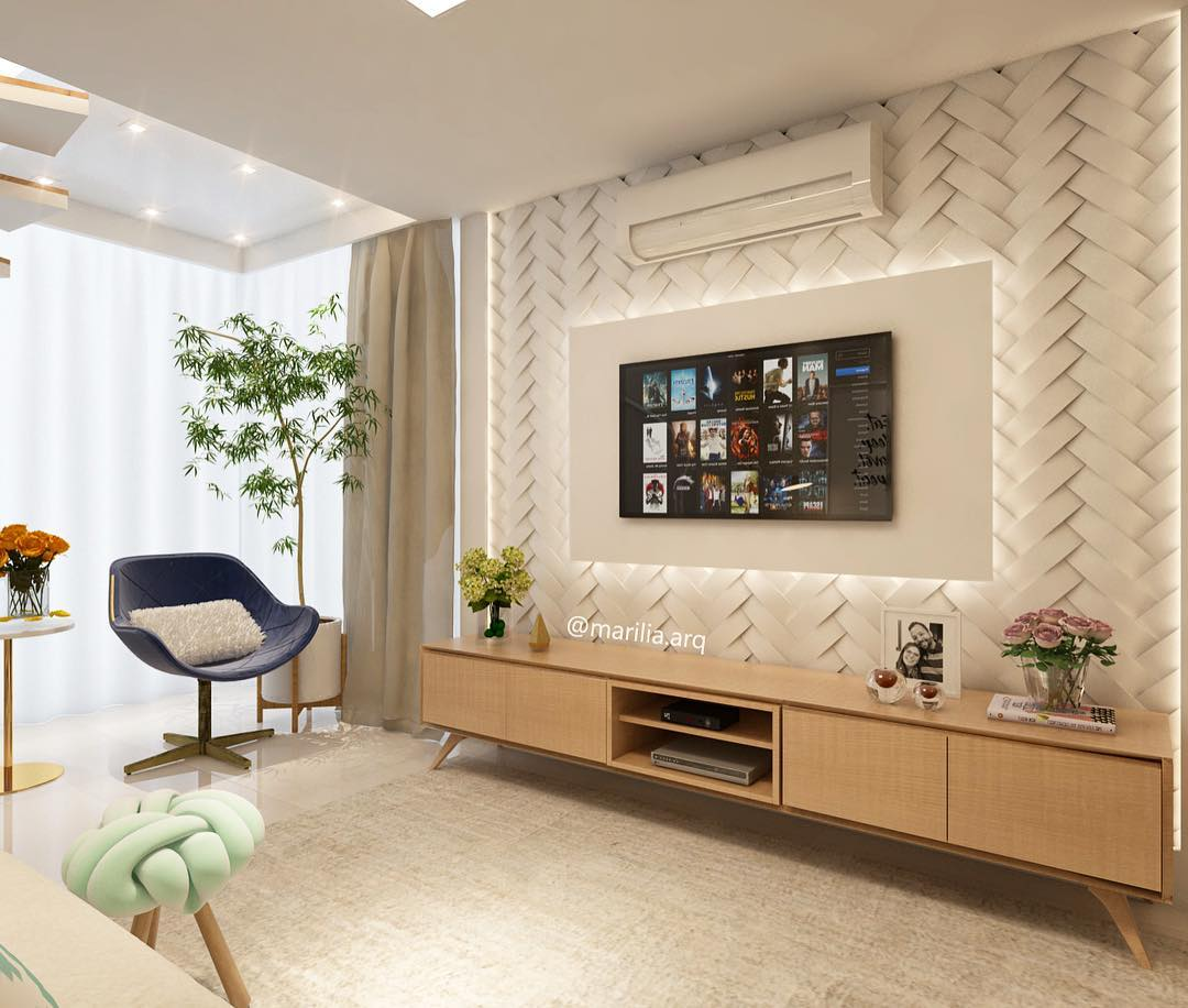 70 lindas salas decoradas para voc se inspirar FOTOS