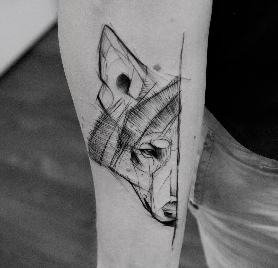 Significado De Tatuagens De Lobo Com Flores