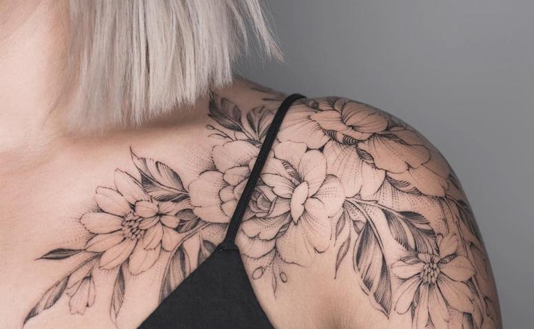 Tatuagens Femininas Coloridas No Ombro Tattoos Ideas