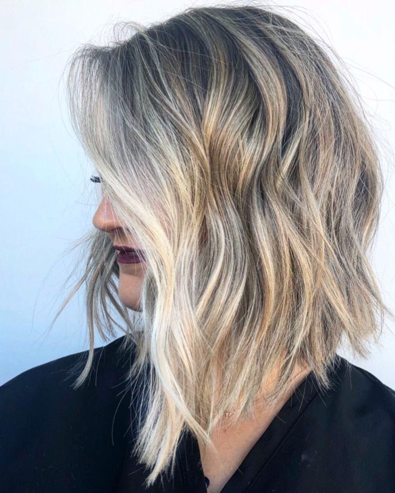 40 fotos de cabelo médio repicado para inspirar sua mudança de visual