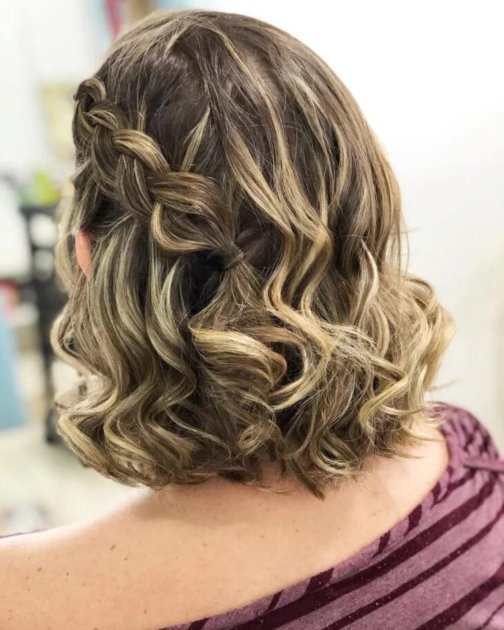 Penteados para casamento em cabelo curto: 40 ideias e tutoriais