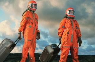 A história da linha do tempo da viagem espacial