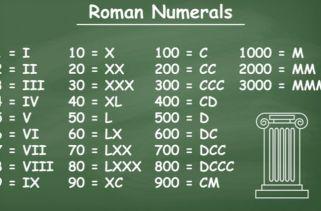 O Que São Algarismos Romanos?