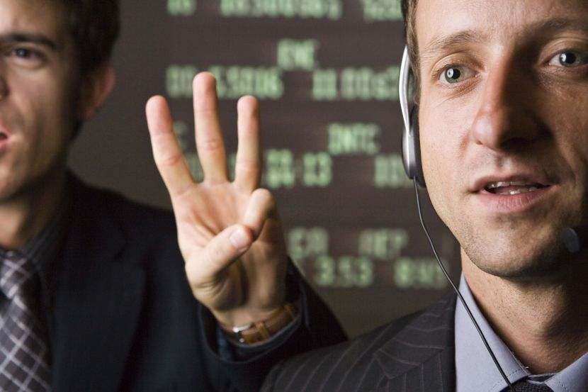 Como pesquiso informações sobre ações de empresas?