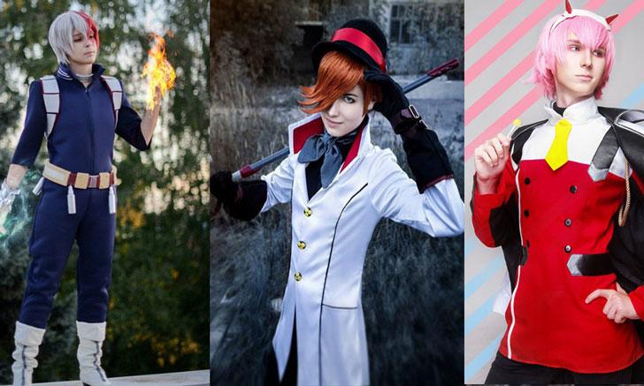 Melhores trajes de anime para homens