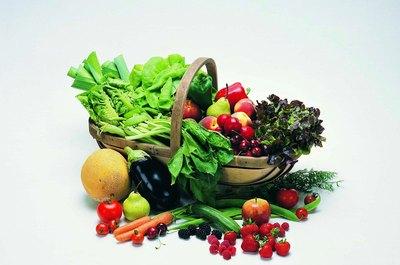 Lista saudável de frutas e vegetais