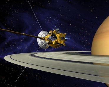 Por que a Cassini mergulhou em Saturno?