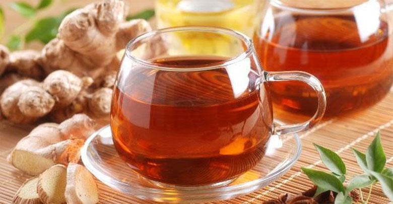 Chá para secar barriga com Gengibre e canela