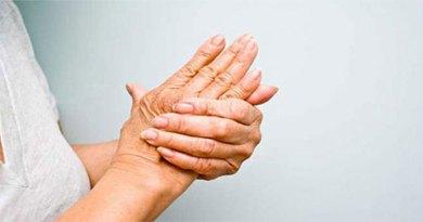 Formigamento nas mãos