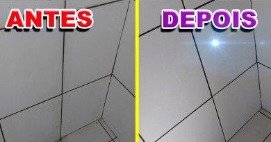 Como limpar pisos e azulejos de banheiro e cozinha