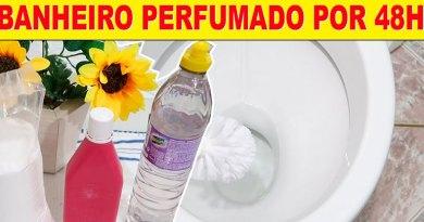 Dica simples para perfumar o seu banheiro