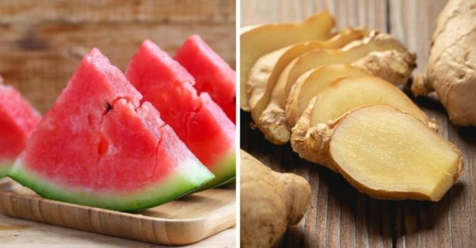 benefícios do suco de melancia com gengibre e como fazer