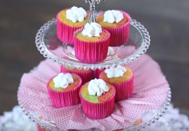 receitas sobremesas com gelatina cupcake