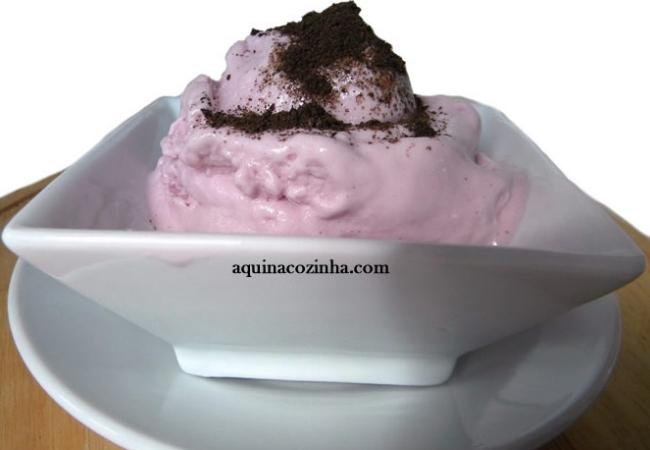 receitas sobremesas com gelatina sorvete