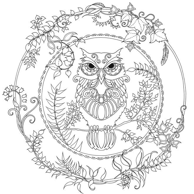 Desenhos Para Colorir e Imprimir Antiestresse