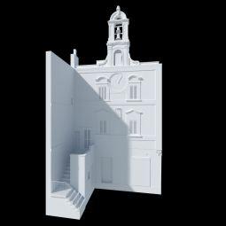 Modello senza texture