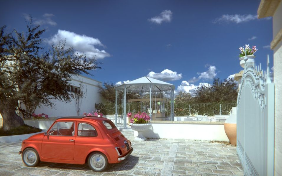 Gazebo - FInal version rendering