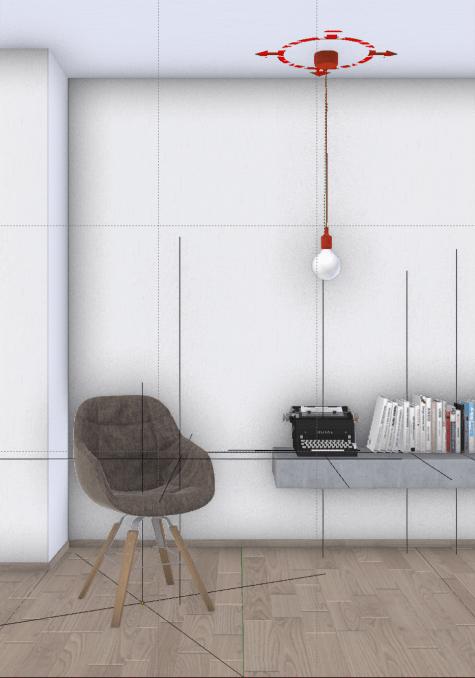 Minimalist interior scene #2