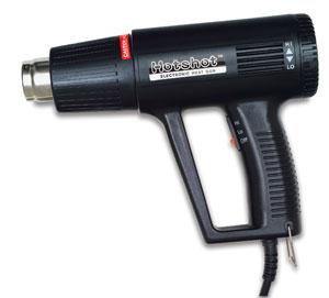 Hot air gun for encaustics